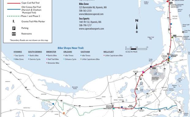 Cape Cod Rail Trail in Dennis MA - Beachcamp Dennisport ...