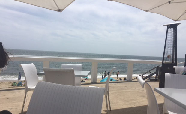 Lunch at Ocean House Beach Bar Dennisport